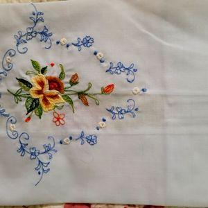 Vintage Embroidery Cloth Napkins